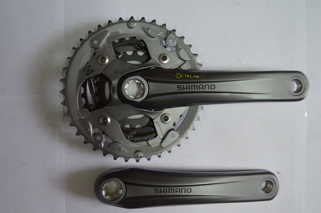 Шатун со звездой SHIMANO FC-M4000 Octalink(ALIVIO) 40*30*22 175mm