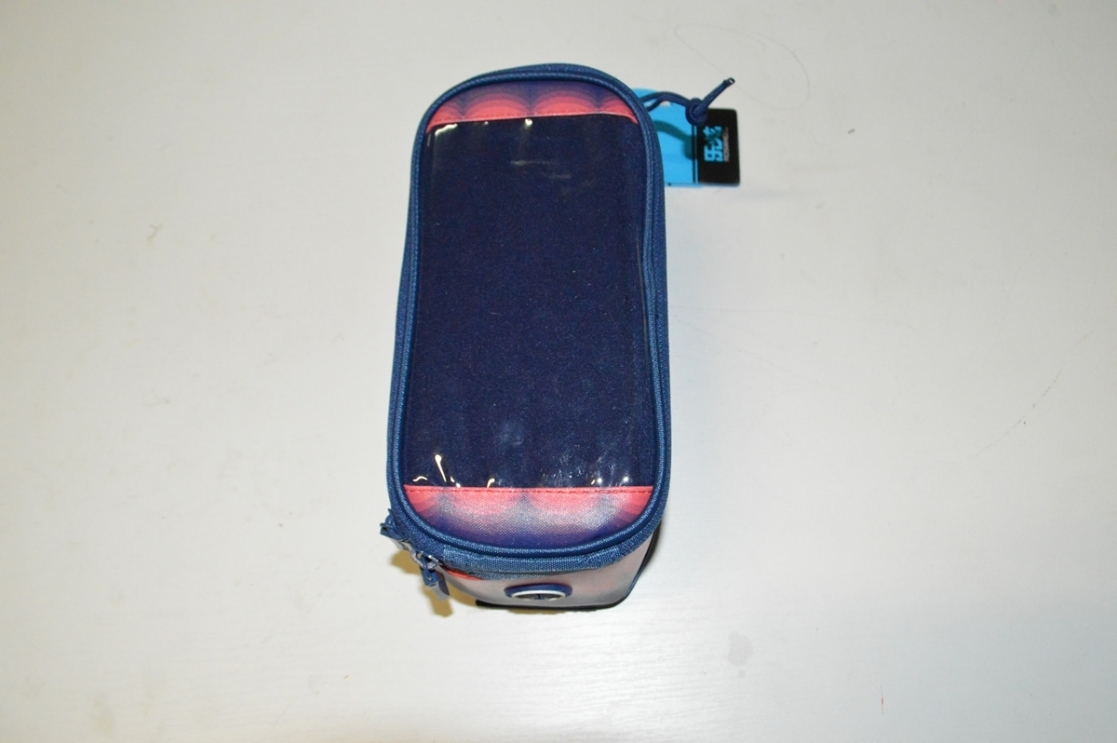 Сумка Roswheel для телефона на руль фиол/роз X94984