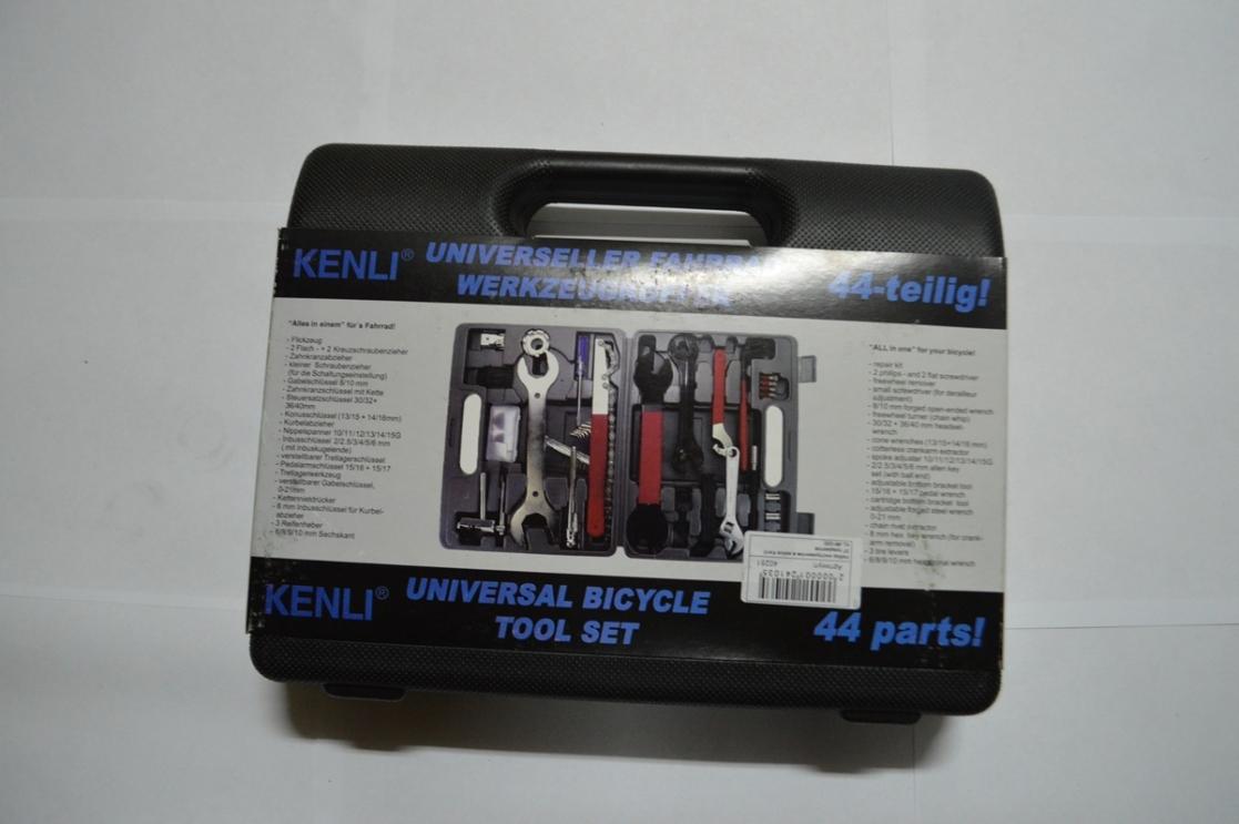 Набор инструментов в кейсе Kenli 37 предметов KL-9810, код 40251
