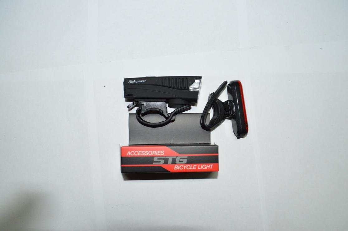 Фонари комплект STG FL1588 + USB X95142